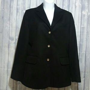 L.L. Bean Wool/Cashmere blend blazer Size 10R